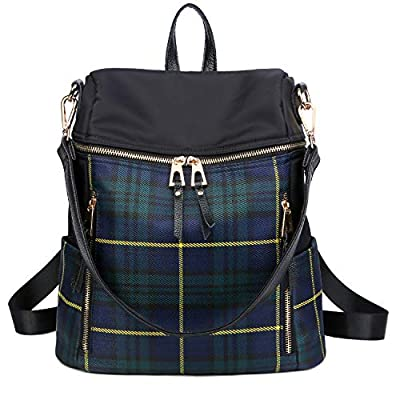 LEADO Fashion Backpack Purse for Women Girls, Nylon Lady Travel Backpack School Shoulder Bag Daypack