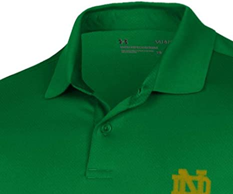 Under Armour Notre Dame Fighting Irish Kelly Green Sideline Huddle Performance T-Shirt