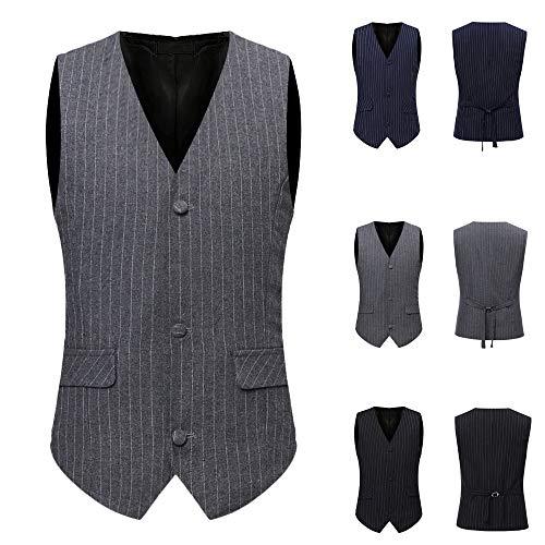 Chic Sans Manteau Hommes Mode Noir Grande Britannique Outwear Affaires Imprimer Adeshop Taille Gentilhomme Costume Blousons Simple 1 Vest Vêtements Les Veste Loisirs Manches Tops Boutonnage Gilet Fafzfn75
