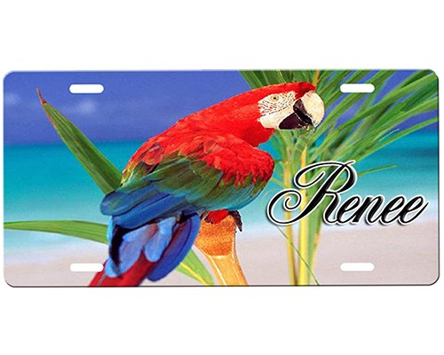 Parrot License Plate