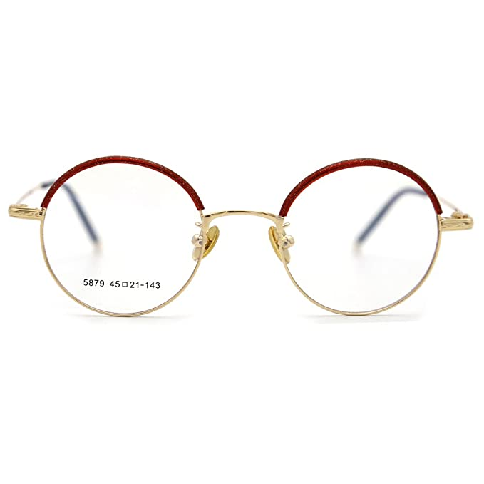 371db0eaba7 新品 Natwve Co Smart Size Vintage Eyewear Colorful Retro Designer Glasses for  women men (5879) (Pearl Red with Gold)  Amazon.ca  Clothing   Accessories