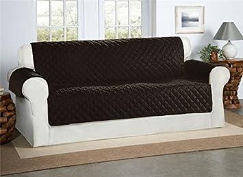 Safari Homeware Schwarzer 3 Sitzer Sofa Bezug Couchdeckel Sofa