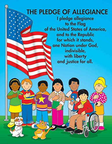 Carson Dellosa The Pledge of Allegiance Chart (6111)