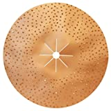 Pearl Abrasive 16'' Hexpin Double-Sided Tungsten Carbide Sanding Disc