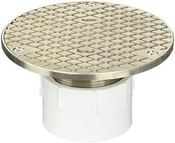 Zurn Co2450 Pv2 Adjustable Floor Cleanout 2 Inch Pvc Hub