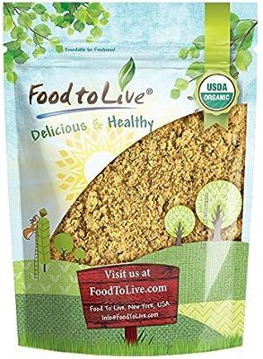 Organic Sacha Inchi Powder 1 Pound Non Gmo Kosher Inca Nut Powder Raw Vegan Protein Powder Rich In Omega 3 Bulk Amazon Com Grocery Gourmet Food