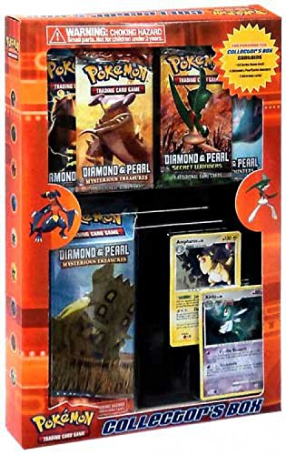 Pokemon Diamond & Pearl Collector's Box (4 Boosters & 1 Theme (Pokemon Diamond Toy)