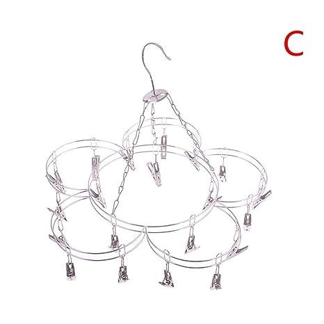 Love lamp Perchero de Acero Inoxidable con Clip para Colgar ...