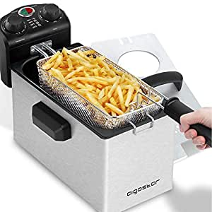 Amazon.com: Aigostar Ken Deep Fryer - 3L Electric Deep Fat