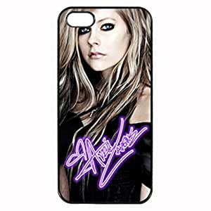 Avril Lavigne Signature Custom Diy Unique Image Durable Rubber Silicone Case for Iphone 5 5S Case
