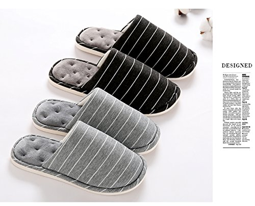 Slippers Slides Black House Flops Women Foam Warm Indoor Home Cozy slip Non Memory Shoes Men Flip Asifn zwBEqpxAn