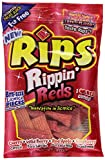 Rips Rippin Reds Licorice Candy 12 Bags of 4 oz For Sale