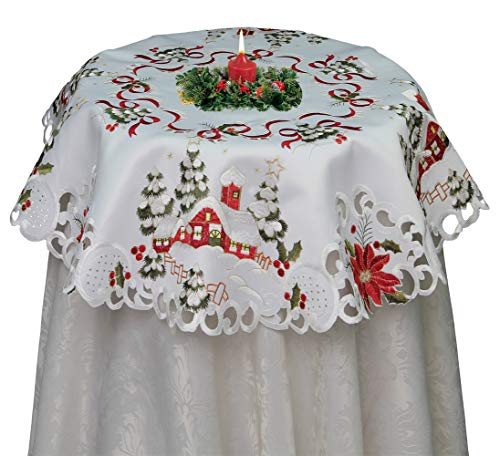 Creative Linens Holiday Christmas Tablecloth 33