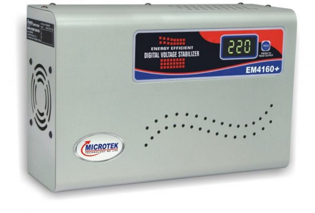 Microtek EM4160+ Automatic Voltage Stabilizer for AC up to 1.5 ton