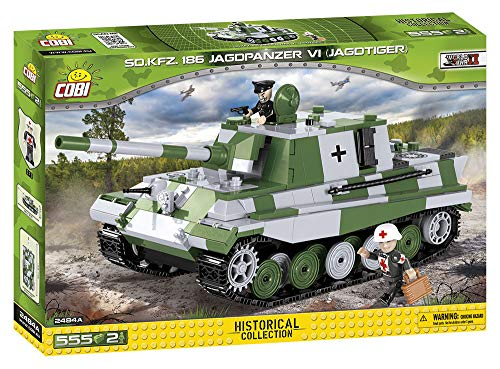COBI Small Army SD. KFZ. 186 Jagdpanzer VI (Jagdtiger) Tank