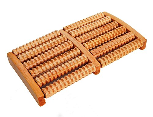 6-Raw-Wooden-Wood-Roller-Foot-Massager-Stress-Relief-HealthTherapy-Relax-Massage-by--Royal--Shop-