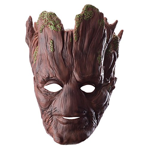 Rubie's Costume Men's Guardians Of The Galaxy Groot 3/4 Adult Mask, Multi, One Size