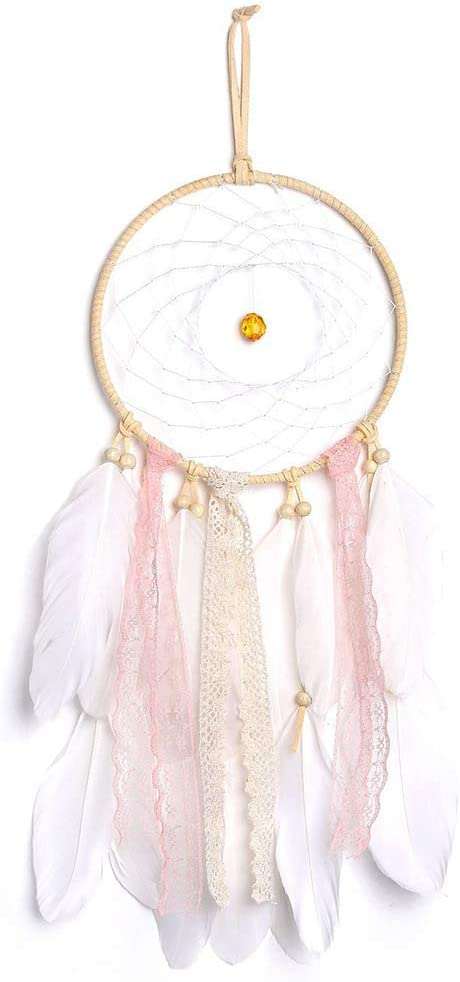 Acell Traumf/änger Handgefertigt Feder Dreamcatcher Wandbehang Ornament f/ür Baby Shower Car Hochzeit Home Decor Geschenk