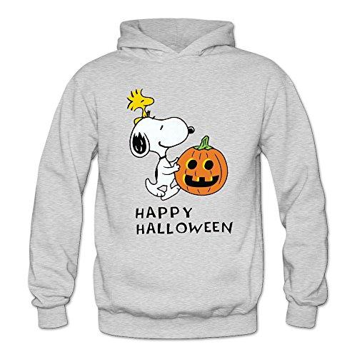 CRIS Cute Halloween Pumkin Snoopy Hoodie Ash For - Holiday Ac Dc