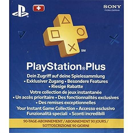Sony PlayStation Plus Card, 90 - accesorios de juegos de pc (90 ...