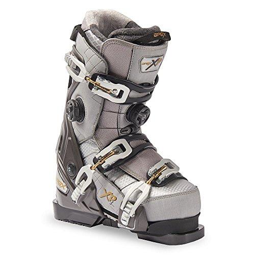 Apex XP-L 26 Alpine Ski Boots, Grey, Medium by Apex