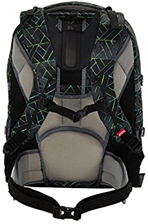 45286c1962d65 4YOU Basic School Backpack JamPac 891 Neon Prints  Amazon.co.uk  Office  Products
