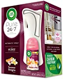 Air Wick Pure Freshmatic Automatic Spray Starter Kit (Gadget + 1 Refill), Summer Delights, Air Freshener, Essential Oil, Odor Neutralization, Packaging May Vary