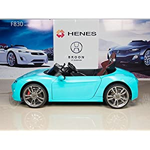 Henes-Broon-F830-with-Tablet-PC-12V-Kids-Ride-On-Car-Battery-Powered-Wheels-MP3-Remote-Control-RC-Blue