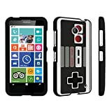 DuroCase ® Nokia Lumia 635 Hard Case Black – (Game Controller)