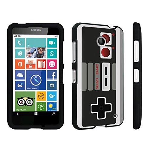 DuroCase ® Nokia Lumia 635 Hard Case Black – (Game Controller)