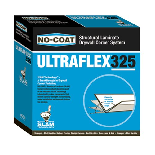 No Coat Drywall - Grabber ULT325 No-Coat Ultra A Flex Prefinished Drywall Flex Trim
