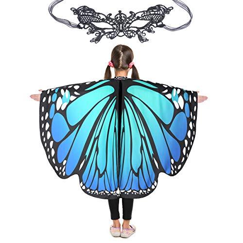 Butterfly Wings for Girls Kids Halloween Costume