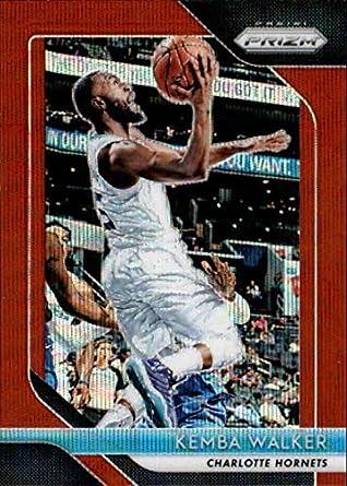 2018-19 Panini Prizm Prizms Ruby Wave  298 Kemba Walker Charlotte Hornets  NBA Basketball d81e4d1d5