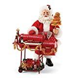 "Department 56 Possible Dreams Santa Claus ""Smokin' Hot"" Clothtique Figurine, 11''"
