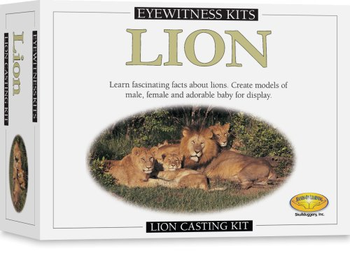Skullduggery Eyewitness Kit Lion Casting Kit