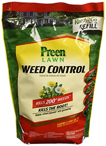 preen-2464114-lawn-weed-control-ready2go-spreader-refill-bag-5-pound-yellow