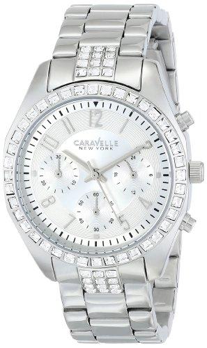 Caravelle New York by Bulova Women s 43L171 Analog Display Japanese Quartz White Watch