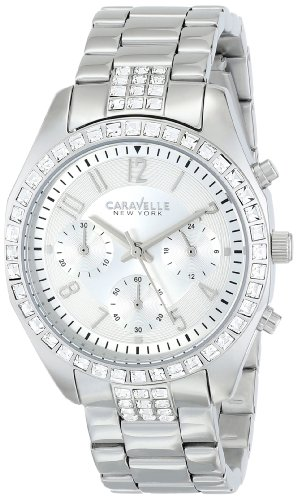Caravelle New York by Bulova Women's 43L171 Analog Display Japanese Quartz White Watch