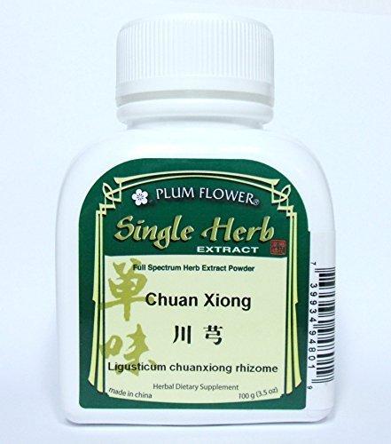 Szechuan Lovage Root Herb Extract Powder / Chuan Xiong / Ligusticum Chuanxiong, 100g or 3.5oz