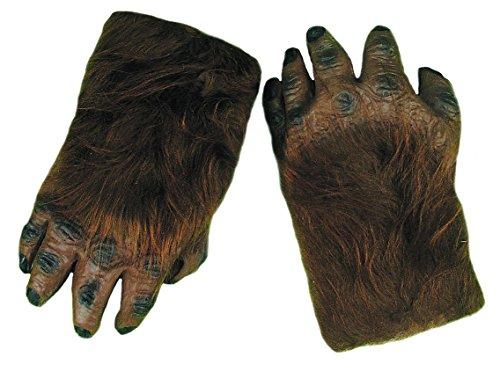 Forum Novelties Unisex Adult Hairy Hands Costume Accessory (1 Pair)