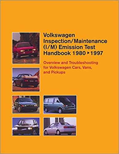Volkswagen Inspection/Maintenance (I/M) Emission Test Handbook 1980