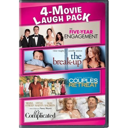 Couples Collection Watch - 4-Movie Collection (5-Year Engagement / Break-Up / It's Complicated / Couple's Retreat)