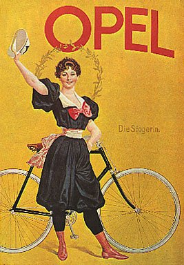 opel-vintage-bicycle-giclee-reproduction-poster-24x36