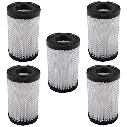 35066 Air Cleaner Filter for Tecumseh Lesco 050128 740095 Sears 63087A Lawn Mower Parts Air Filters(5 Packs)