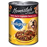 PEDIGREE HOMESTYLE MEALS Hearty Beef and Vegetable Flavor Canned Dog Food 13.2 oz.