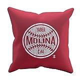 500 LEVEL Yadier Molina St. Louis Baseball Pillow - Yadier Molina Ball