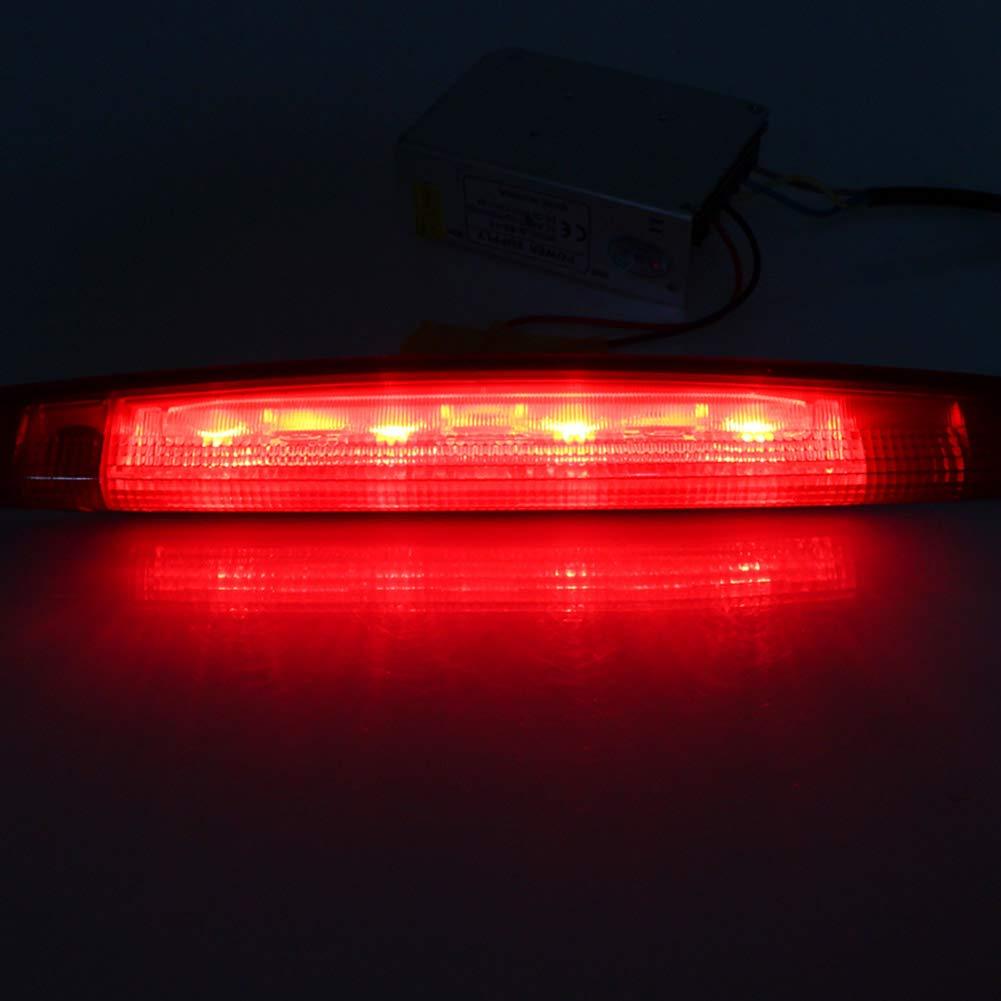Clidrel Third High Mount Stop Light Brake Light 3rd Stop Lamp for Honda CRV CR-V 2012-2014 Red Shell