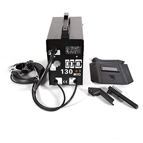 Soldador inverter MIG 130, dispositivo de soldadura de 120 A, soldador de electrodos DHL: Amazon.es: Bricolaje y herramientas