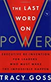 The Last Word on Power by Tracy Goss (1995-10-01)