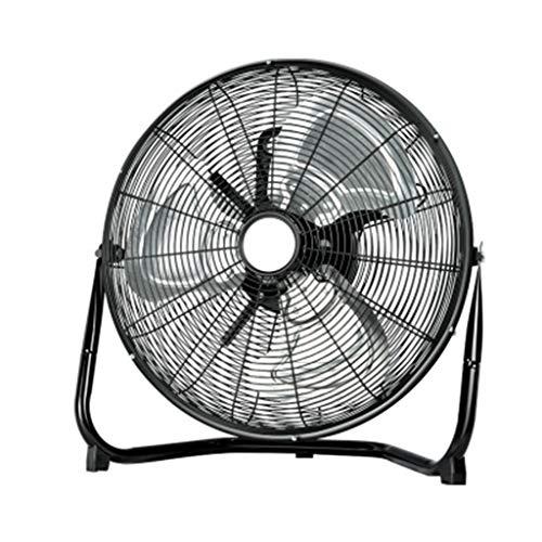 Kitzen High Velocity Fan 10-Inch 3-Speed Metal 360°Desktop Fan, Comfort Zone Oscillating Table Fan | Portable, Black Fan ()